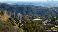 """""""Behind the Scenes"""" Hike to the Hollywood sign February 2012"""