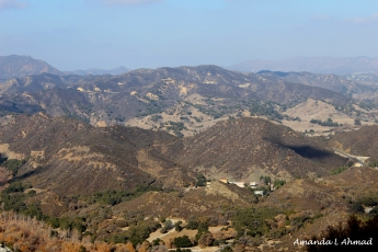 """""""The Mountains That Don't End"""" Southern California, 2013"""